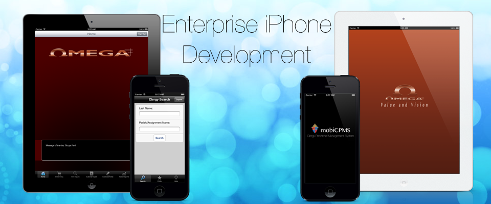Enterprise iPhone and iPad applications enable your team to do more on the go